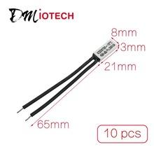 10 Unids/lote Cabeza De Plástico Interruptor de Temperatura Termostato KSD9700 70C N.O Descuento 50
