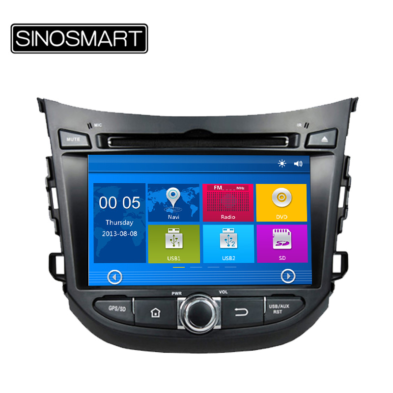 "Updated WIN CE 800MHz CPU 256M DDR 7"" Car DVD GPS Navigation for Hyundai HB20 2013 Support 1080P Video Play Canbus Optional(Hong Kong)"