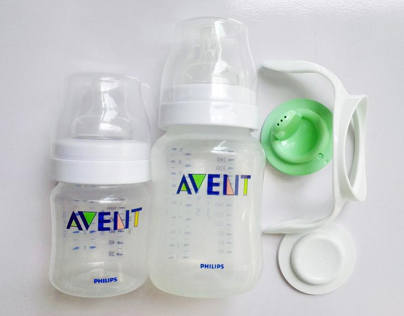 2 AVENT Feeding Bottle+Spout / Handle / Seal Discs Avent Classic Bottles / Avent Storage NewBorn Baby Starter Gift Set/Kit/Pack(China (Mainland))