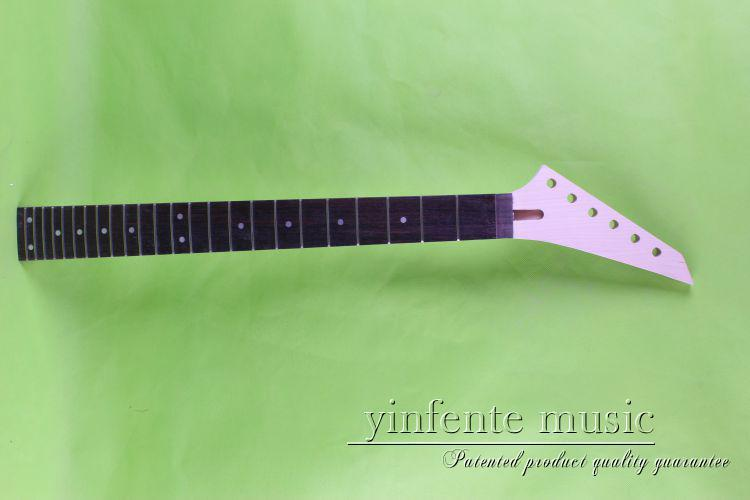 New unfinished guitar neck and soothing the Ebony fingerboard guitar neck(China (Mainland))