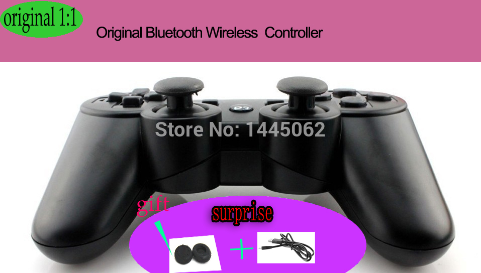 Original Wireless Controller for PlayStation 3 Dualshock 3 Wireless Controller- Wireless gaming Controller gamepad for PS3 NEW(China (Mainland))