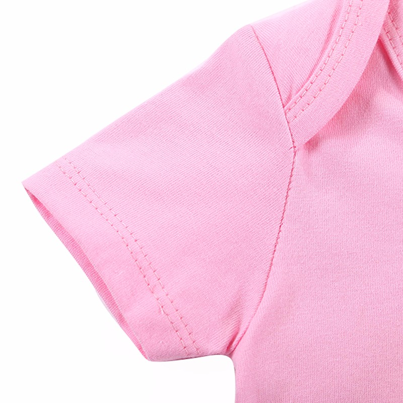 Retail 2016 New Baby Rompers GirlBoy Baby Romper Short Sleeve One-piece Jumpsuit Baby Clothes for Newborn (4)