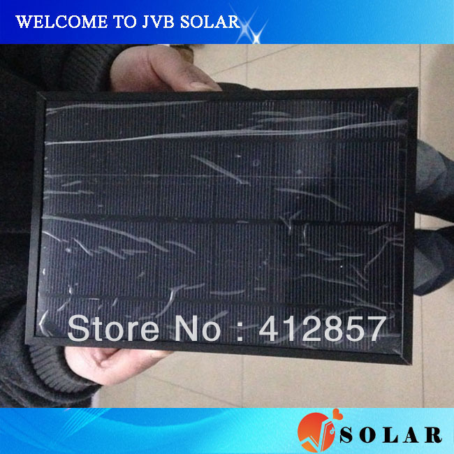 solar panel frame for mounting epoxy pet glass laminated small solar cell modules to protect the apperance(China (Mainland))