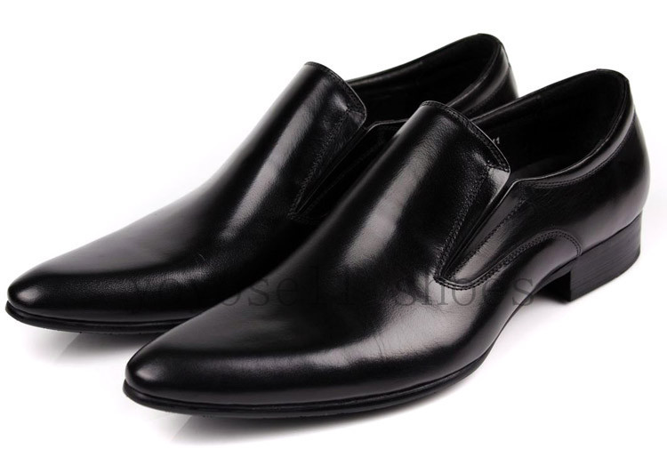 Mens Pointed Dress Shoes