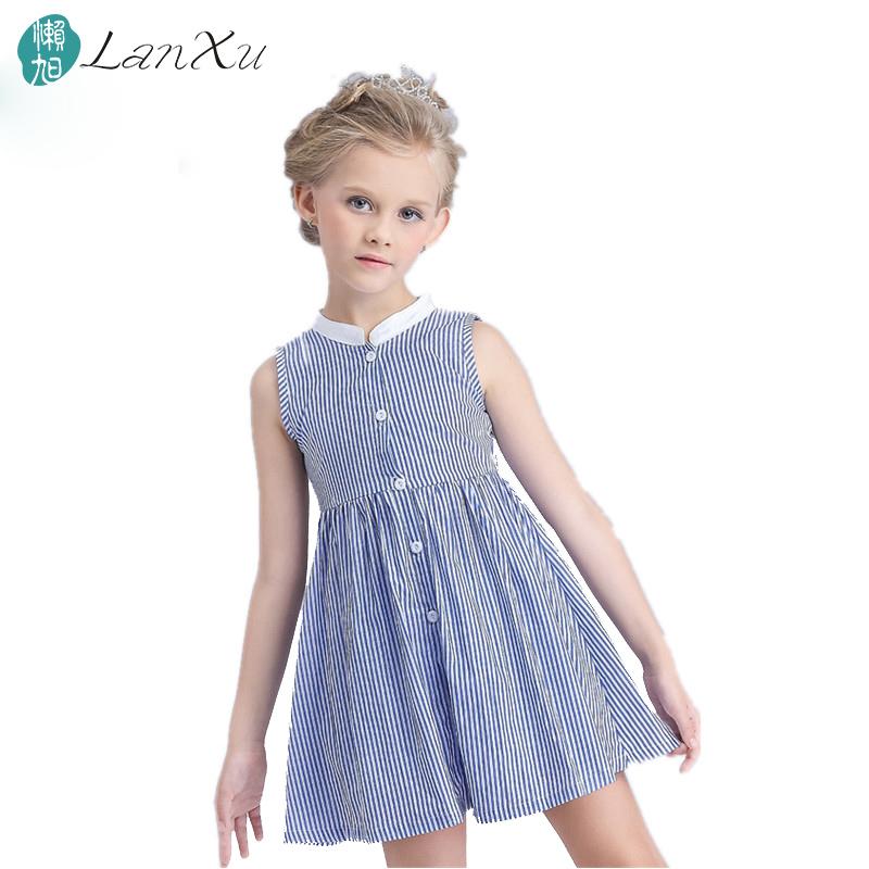 summer Girls dress Cotton fashion High-grade linen evening dress children's clothing kids birthday present(China (Mainland))