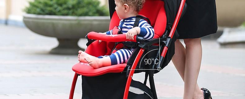 Simple Folding Baby Stroller