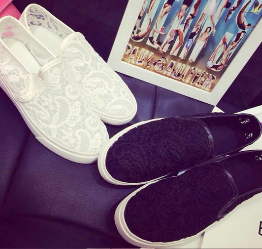 sale fashionville free ship j875 2 colors lace slip on casual sneakers sandals