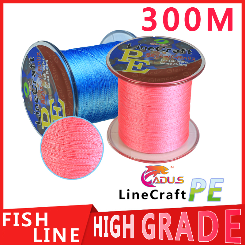 300M Glance PE Brand 300M 330Yards Multifilament PE Braided Fishing Line 10LB 20LB 25LB 30LB 40LB 50LB 60LB 80LB 100LB new 2014(China (Mainland))