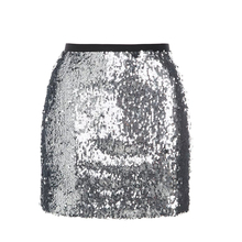 Buy Summer Sexy Silver sequined Pencil skirts women High waist bodycon Mini Skirts 2017 new lady Zipper Clubwear Party Skirt for $15.15 in AliExpress store