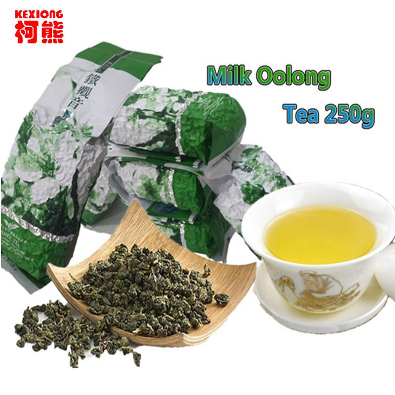 Китайский зеленый чай молочный улун