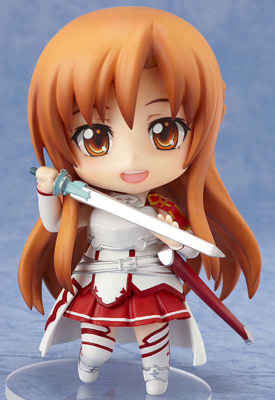 Nendoroid Sword Art Online SAO 283 Asuna Anime Cute Figure 4'' New Box - lucky plaza store