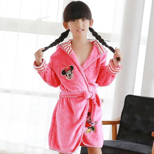 Новая девочка / мальчик мультфильм пижамы пикачу тигр халаты с капюшоном одеяние-дети ...