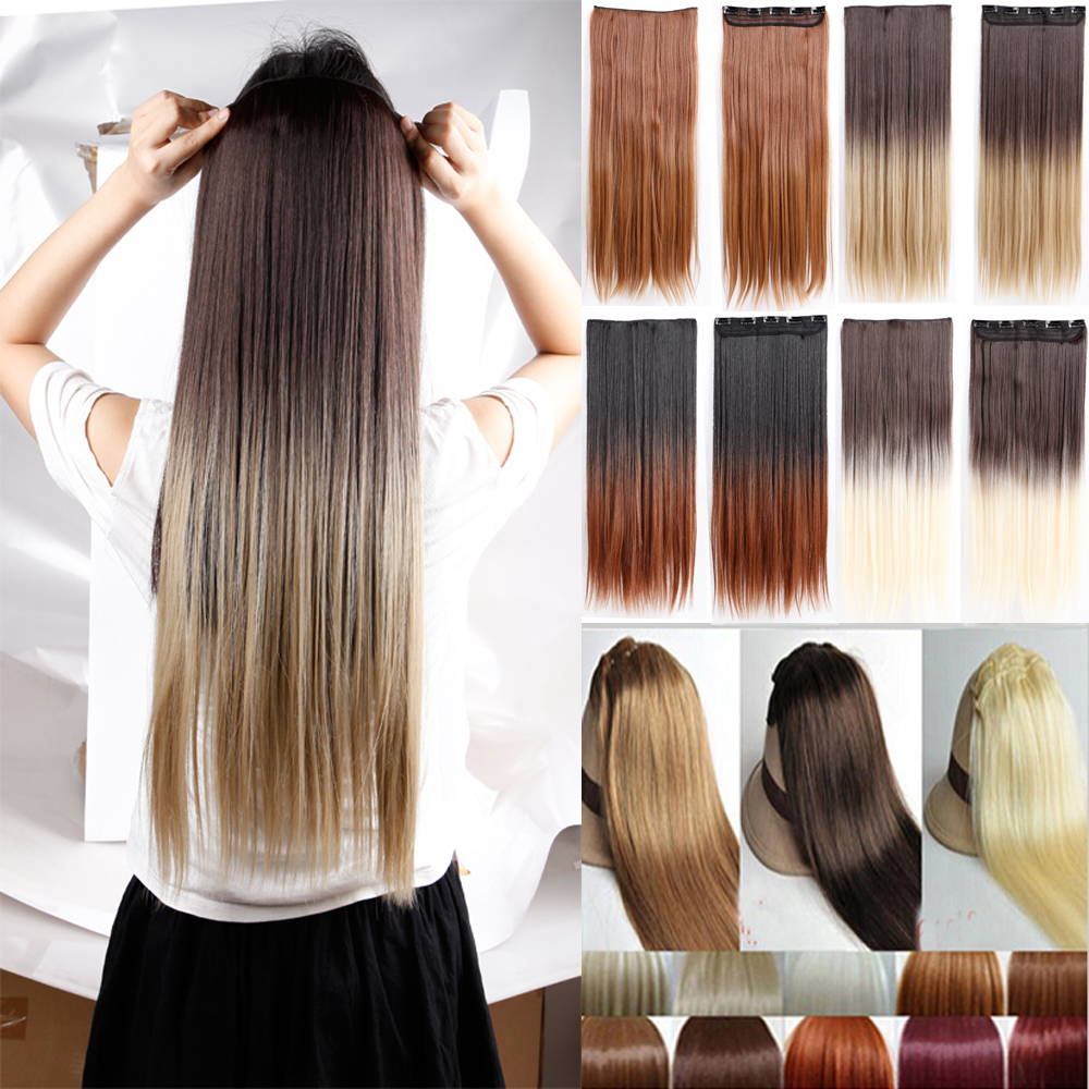 Light Natural Blonde Hair Extensions Human Hair Extensions