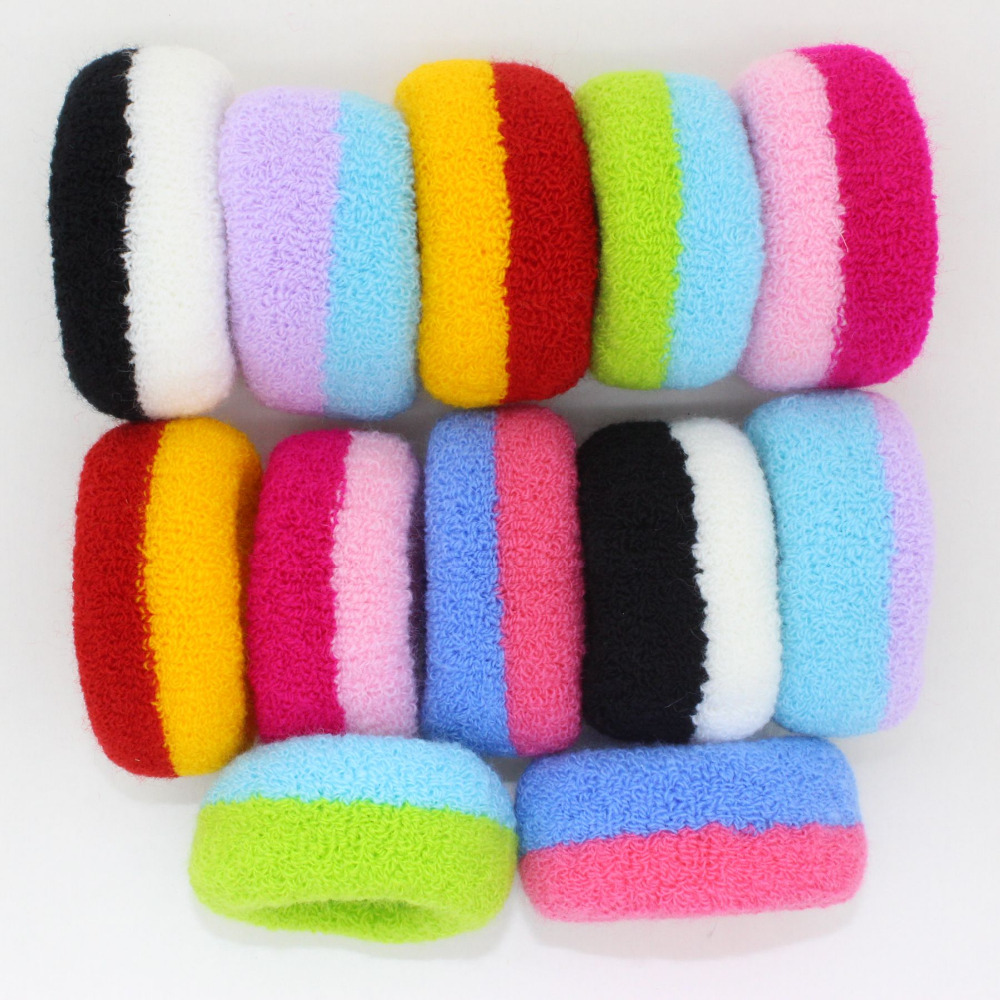 1pcs Gum Rubber Bands Colorful Black Elastic Seamless Ponytail Holders Hot 2017 New Fashion Girl Women width 30mm(China (Mainland))