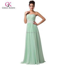 Elegant Red/Mint Green/Blue/Pink Long Prom Dress 2015 Chiffon Formal Evening Gown Maxi Party Dress vestidos longos de festa 6107(Hong Kong)
