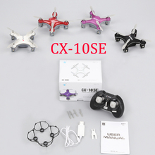 Buy Cheerson CX-10SE Mini Drone CX-10 Upgrade 4CH 6Axis 3D flips Quadcopter Rc Helicopter Nano Drons Quadrocopter Toys Children for $21.60 in AliExpress store
