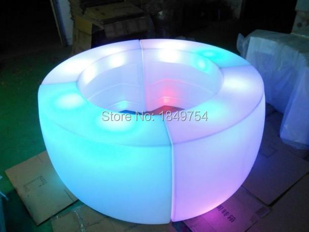 Logo Remote control Luminous LED Bar Counter,Corner Bar,LED Break Bar Table,rechargeable Multicolor LED Bright furniture(China (Mainland))