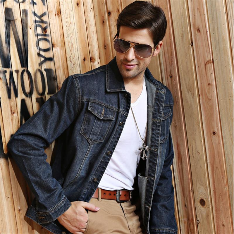 Popular Mens Denim Jacket Outerwear-Buy Cheap Mens Denim Jacket ...