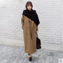 Long camel wool coat online shopping-the world largest long camel