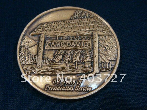 Здесь можно купить  United States Armed Forces Presidential Service Camp David Challenge Coin, 100pcs/lot wholesale United States Armed Forces Presidential Service Camp David Challenge Coin, 100pcs/lot wholesale Дом и Сад