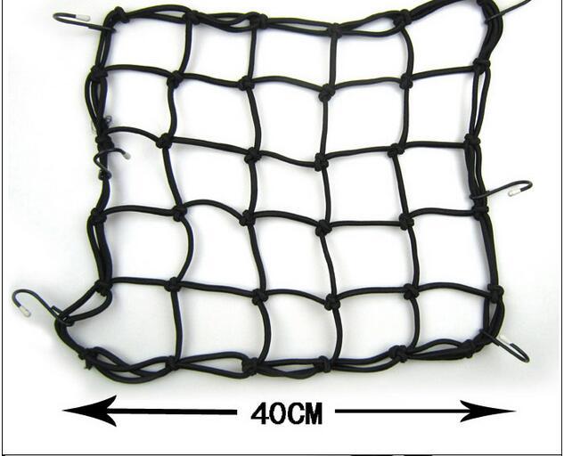 free shipping Net Bag for Motorcycle Bike Luggage Cargo Mesh Helmet Net Holder Hold down Fuel Tank Luggage Net Mesh(China (Mainland))