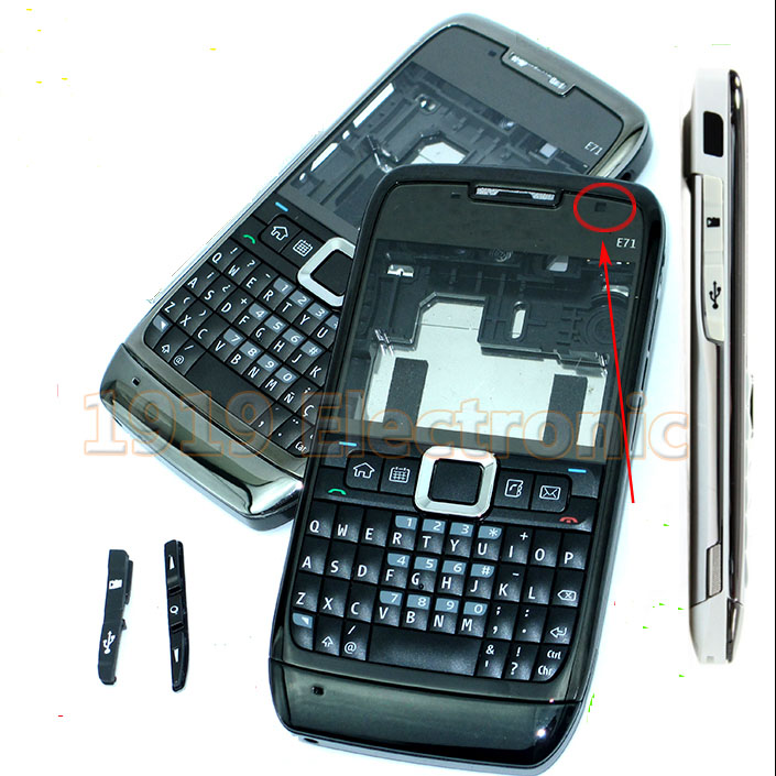 New Full Complete Mobile Phone Housing Cover Case+Enlish Keypad For Nokia E71+ Tools+Tracking(China (Mainland))