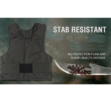 super 4 story stab resistant vest Lightweight soft for police use o neck covert schutzweste tatico