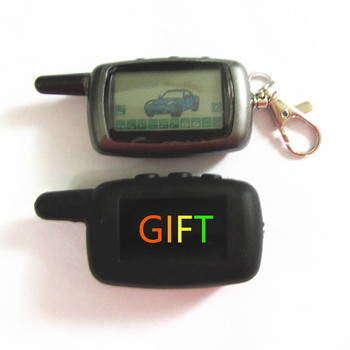 New Hot same Free Shipping LCD remote controller for two way car alarm starline A9