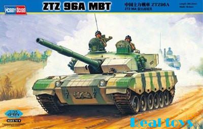 Hobby Boss MODEL 1/35 SCALE 82464 ZTZ96 MBT plastic model kit(China (Mainland))