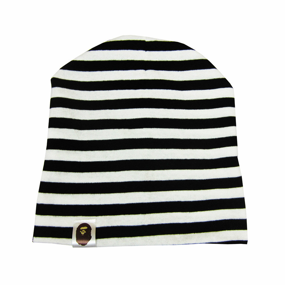 Children Striped Cap 1-3 Years Old Fashion Baby Cap Knitted Warm Cotton Toddler Kids Girl Boy Print Hats