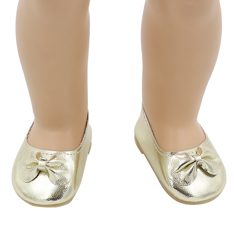 American Girl Doll Shoes Fits 18'' Doll Clothes 15 Colors Patent Leather Shoes With Bow Doll Accessories 15 Colors xie202-220(China (Mainland))