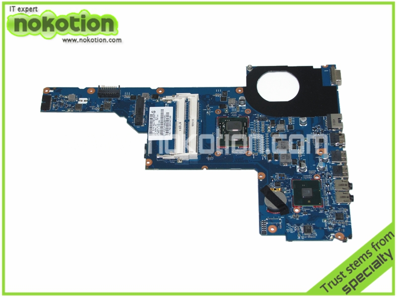 653087-001 Laptop motherboard for HP Pavilion G6 G6-1000 with HM55 i3-370M Mainboard full tested(China (Mainland))