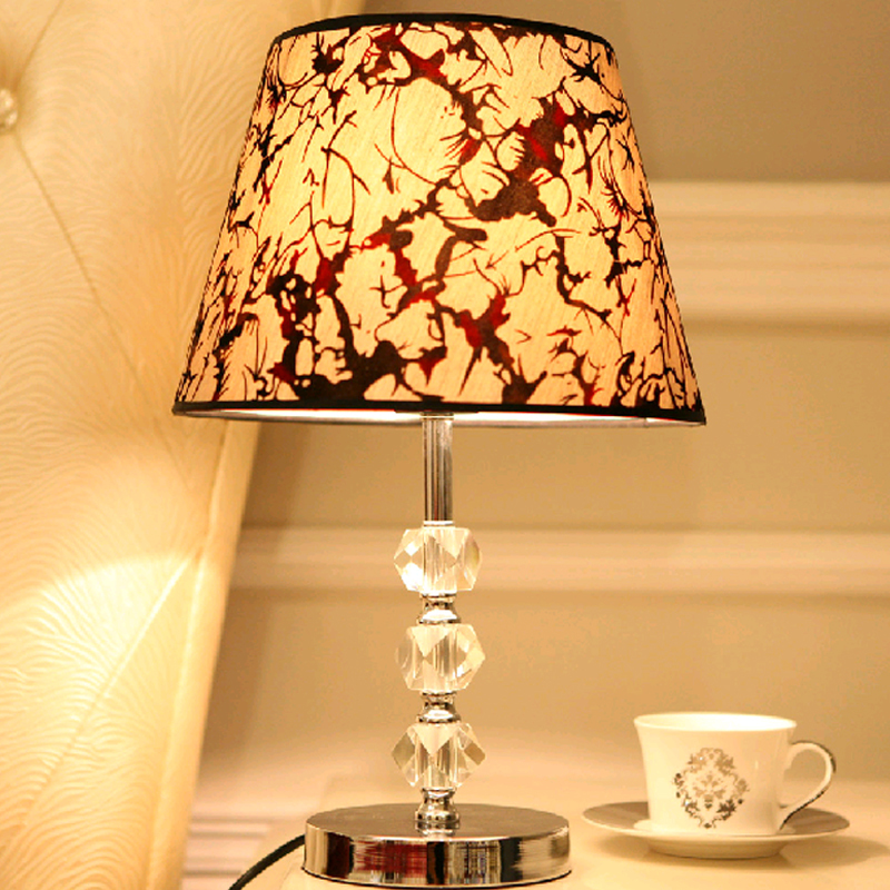 and contracted k9 crystal lamp lighting lamps and lanterns of bedroom