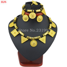 Cute and New  Ethiopian jewelry  sets  24k Gold plated sets  for African /Ethiopian /Eritrean Women jewelry sets(China (Mainland))