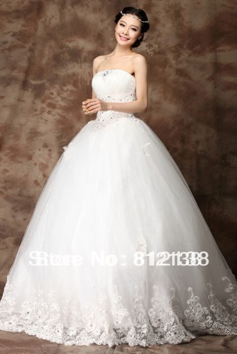 New arrival  Wedding Dress Fashion Dress for Party White Free Shipping, HS-C102