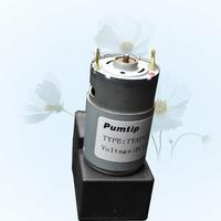 Free shipping TYAP127 Mini diaphragm 12V DC vacuum pump electric charge pump circulating pneumatic pump