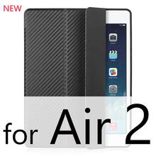 Для iPad Air 2 Air 1 случай 2018 9,7 принципиально Силиконовые Мягкий Назад тонкий из искусственной кожи Smart Cover чехол для iPad 2018 6th поколения Чехол(China)