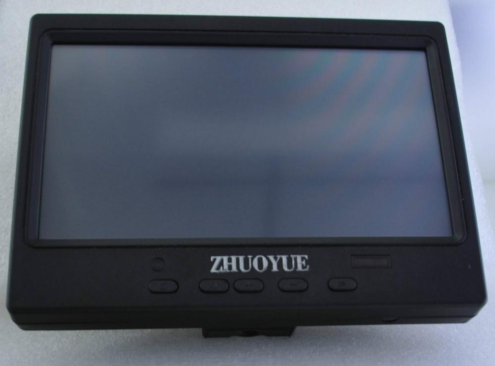 fast sent 7 INCH TFT LED +TOUCH SCREEN+ HDMI VGA AV input 800*480 USB control touch screen Display Car Monitor(China (Mainland))