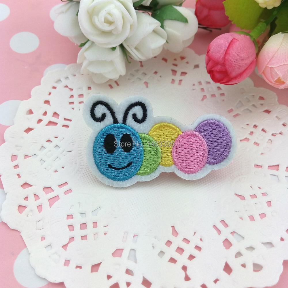 Hair Clips New Design Kids Hair Accessories Children Girls Caterpillar Barrettes(China (Mainland))