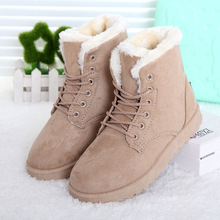 Botas femininas botas de mujer 2017 nueva llegada de las mujeres botas de invierno botas de nieve caliente zapatos de plataforma de la moda de las mujeres de moda botines(China (Mainland))