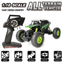 RC Car WLtoys 18428-B Electric Drive Climbing 4WD 1/18 2.4G RC Vehicles Monster Truck toys xmas gifts for child(China (Mainland))