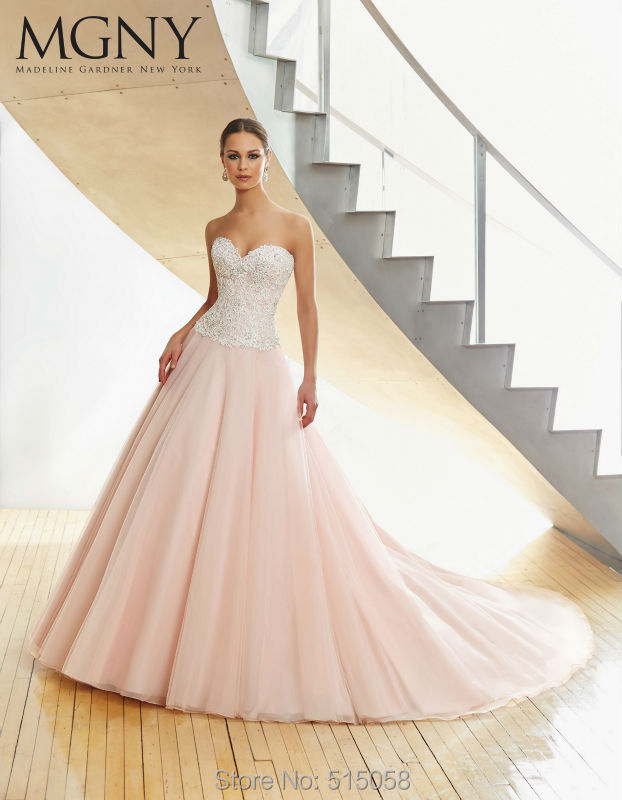 Pink And White Wedding Dresses Buy - Expensive Wedding Dresses Online