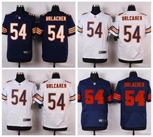 Chicago Bears #54 Brian Urlacher Elite High-quality free shipping(China (Mainland))