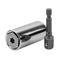 2Pcs/Set New As seen on tv GRIP HAND TOOL Universal Socket Wrench Power Drill Adapter Multifunctional Sleeve Combination Tool
