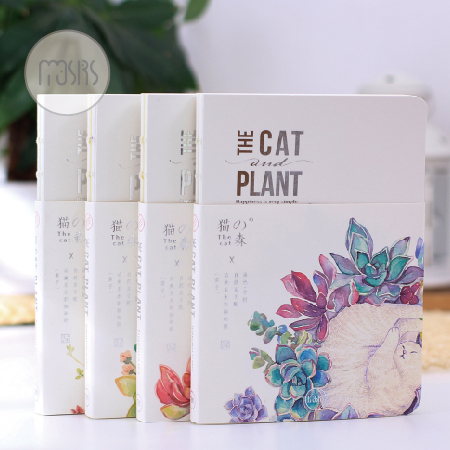 New Funny Animal Series 32K Car Line Dowling Page Wire-Bound Notebook Cute Cats Notepad <br><br>Aliexpress