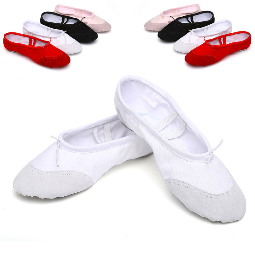 Product Features Girls womens all season pink pointe ballet shoes size USUS9.