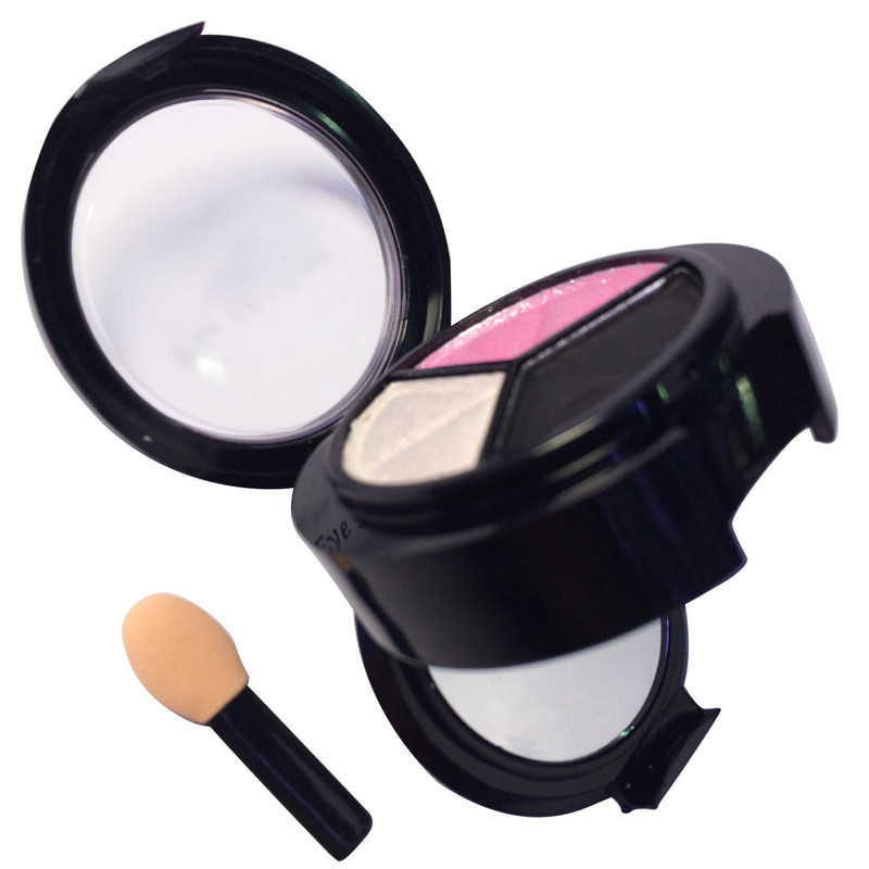 1pcs Stage Makeup Eye shadow Matte Natural 3 Colors Eye shadow Comestic Long Lasting Make up Eyeshadow Palette For Women