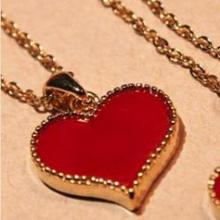 Korean version of the same paragraph Gossip Girl Serena love Clover necklace jewelry wholesale  free shipping