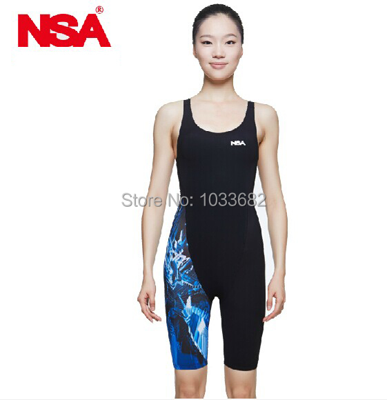 NSA competition  italy fabric knee length womens training &amp; racing swimwear one piece waterproof swimsuit<br><br>Aliexpress