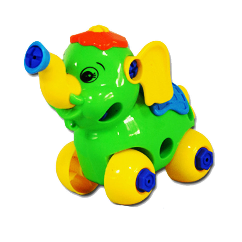 Best seller Free Shipping Christmas Gift Disassembly Elephant Car Design Educational toys for children for your lovely dear Mar2(China (Mainland))